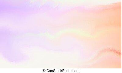Fondo abstracto suave en estilo aqua. Mezcla de pintura en superficie húmeda iluminable y editable vector de ilustración. Templancia para la boda, aniversario, tema de San Valentín, concepto de invitación