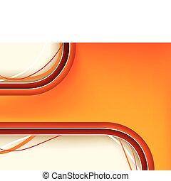 fondo anaranjado, copyspace, rojo