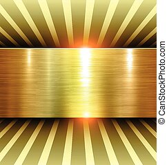 Fondo brillante de oro