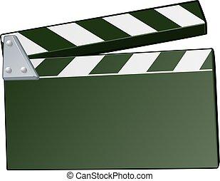 Fondo de claque de películas