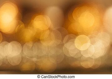 Fondo de luces borrosas coloridas