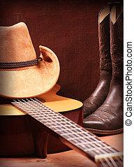 Fondo de música country americano