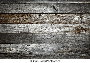 Fondo de madera rústica oscura de granero
