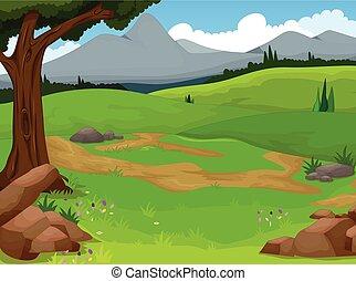 Fondo de paisajes hermosos