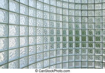 Fondo de pared de vidrio