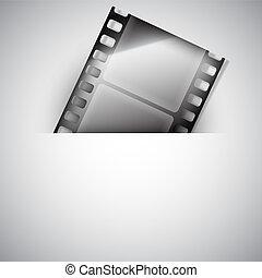 Fondo de películas.