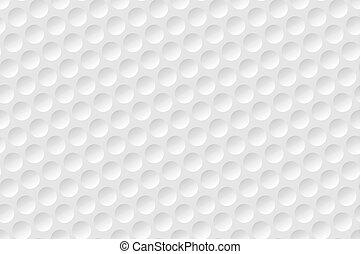 Fondo de textura de pelota de golf