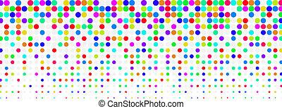 Fondo medio colorido