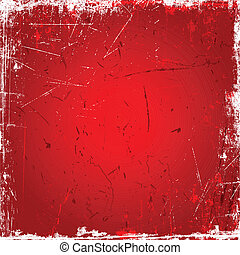 fondo rojo, grunge