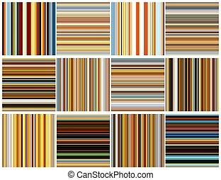 Fondos de rayas sin color