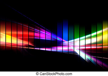 forma de onda, gráfico, audio