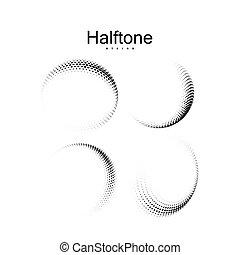 Formas curvadas de la mitad de los 31.