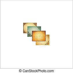 Formularios de cuadros antiguos, símbolos establecidos