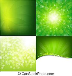 Formularios de naturaleza verde