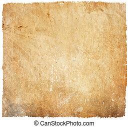 Formularios de papel en blanco