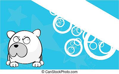 Foto de dibujos animados de oso polar 6