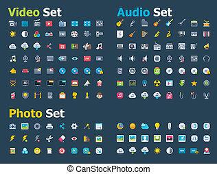 Foto, video y audio