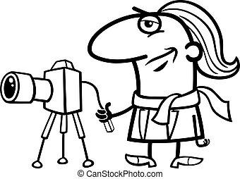 Fotografía de dibujos animados