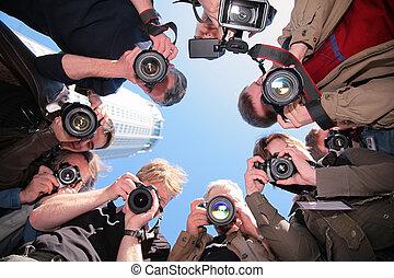 Fotografías en el objeto