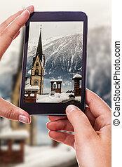 Fotografiando una ciudad austríaca