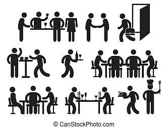 Fotogramas de restaurante