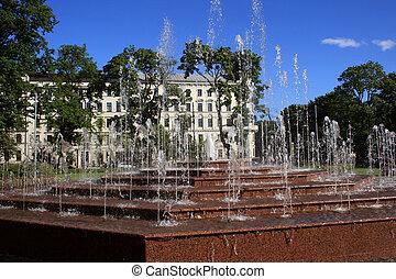 Fountains en riga
