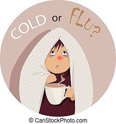 frío, común, flu?, o