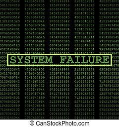 fracaso, sistema