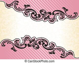Fractura romántica francesa en rosa