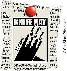 Fragmento del día de cuchillos clasificados