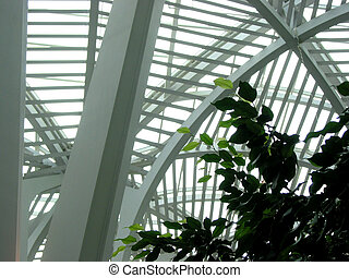 fragmento, moderno, estructura
