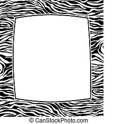 Frame con textura abstracta de la piel