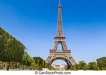 francia, torre, eiffel, parís