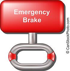 Freno de emergencia