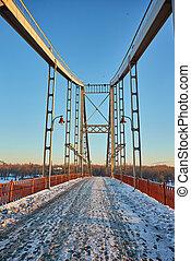 frente, vista puente