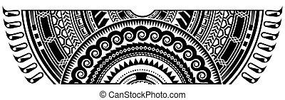 frontera, arte tribal, tatuaje, resumen