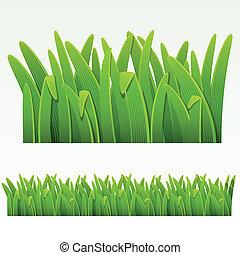 Frontera de hierbas