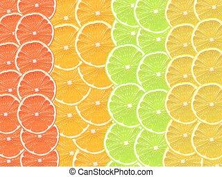 fruta cítrica