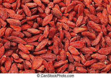 Fruta de fresa seca
