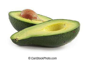 Fruta nutritiva de aguacate