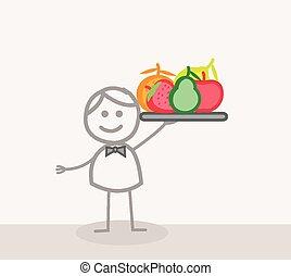 Frutas de camarero