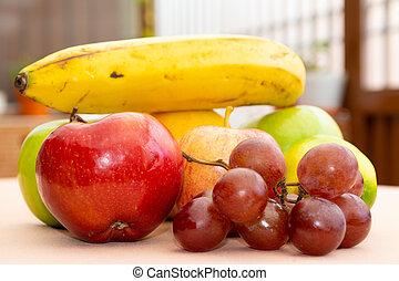 Frutas de cerca