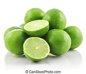 Frutas de lima