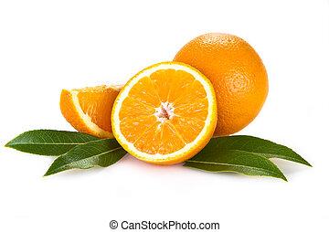 Frutas de naranja
