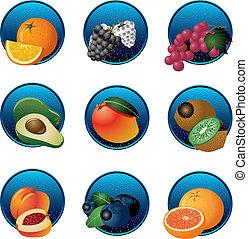 Frutas y bayas