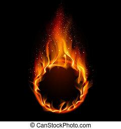 fuego, anillo