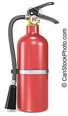 fuego, extinguisher.
