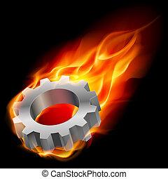 fuego, gearwheel