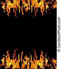 fuego, resumen, plano de fondo