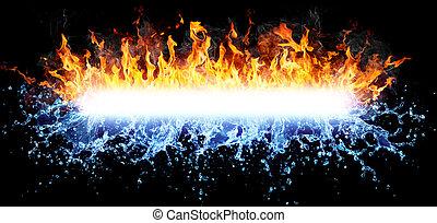 Fuego y agua para los poderosos
